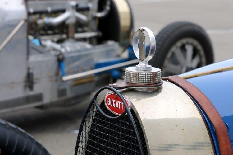 One Bugatti- Two.