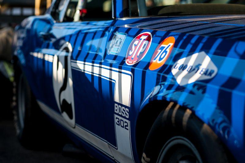 Ex-Dan Gurney, Ford Mustang Boss 302