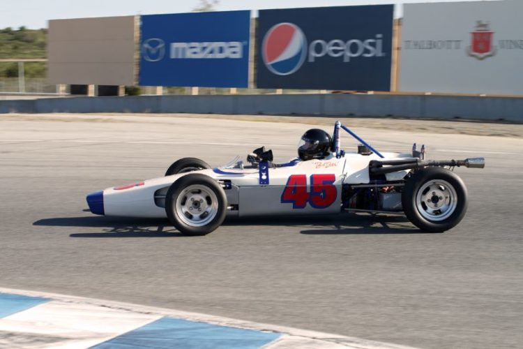 Bob Roth, 1971 Lola T204 in turn eleven.