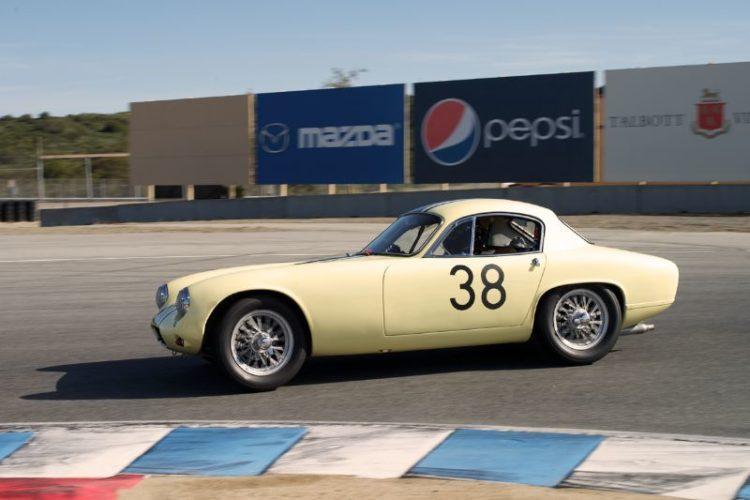 Henry Moore's 1962 Lotus Elite.