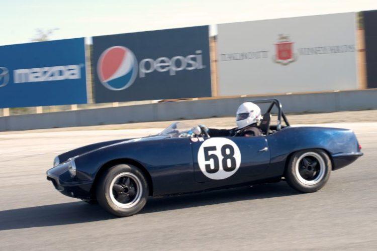 Butch Gilbert's Elva Courier Mk4T.