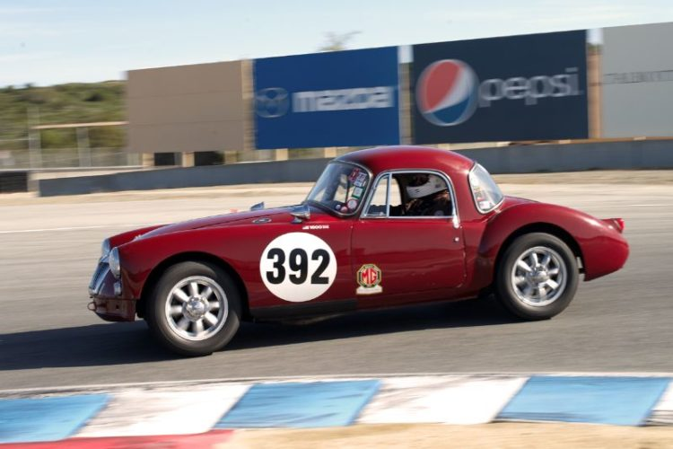 If you are an MG fan it just does not get better then this. Jim Weissenborn in his 1959 MGA.