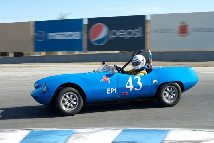 Tom Matychowiak's Elva Courier Mk.1.