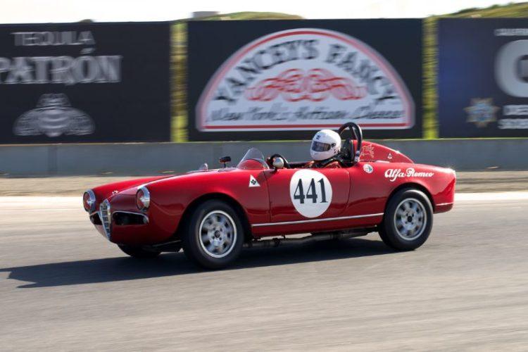 David Buchanan's 1956 Alfa Romeo Sebring.