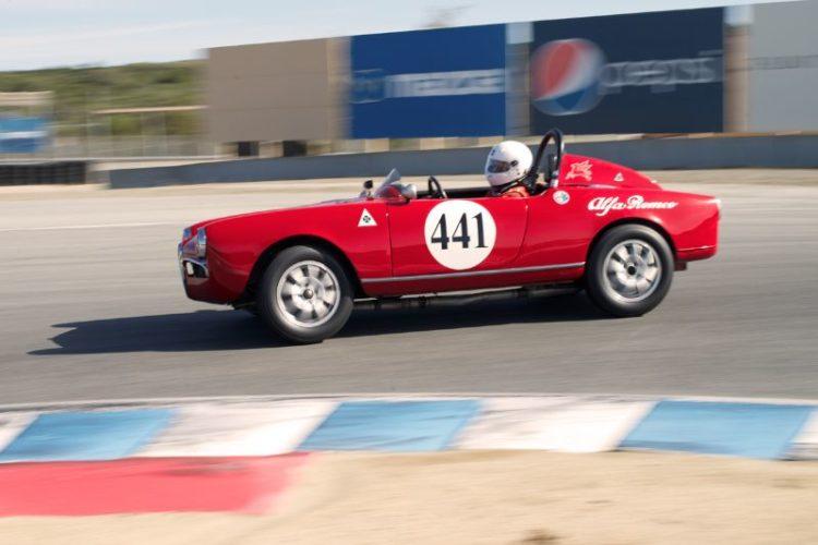David Buchanan's 1956 Alfa Romeo Sebring in eleven.