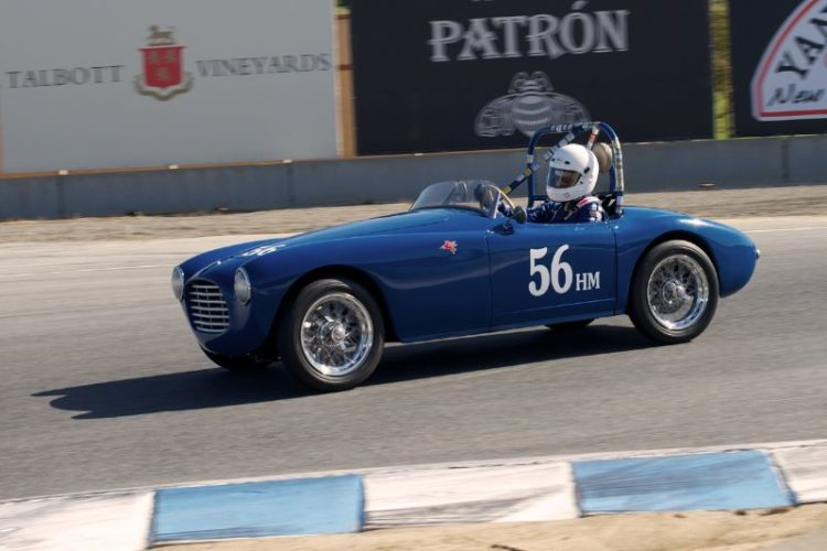 Marty Stein's 1952 Siata 300BC. This car won the first HMSA Martin Swigg award. The car was also featured in Sports Car Digest coverage of the 2012 California Mille.
