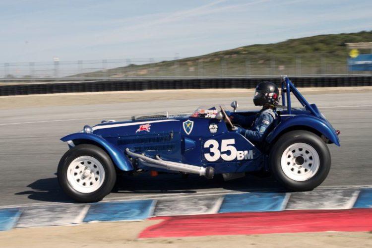 David Swig drove the 1957 Monsterati on Sunday.