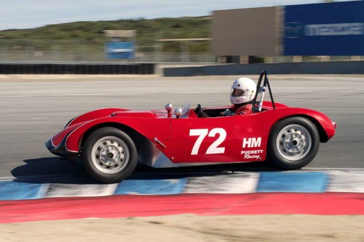 Paul Perry in his Phoenix Saab.