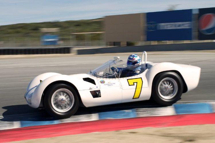 Jonathan Feiber's 1960 Maserati Tipo 61 'Birdcage' in eleven.