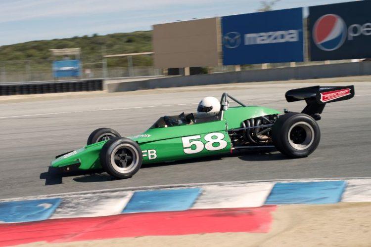 Dan Marvin's Lotus 69 in eleven.