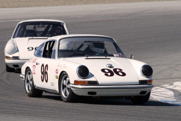Ed Matsuishi's Porsche 911R in two.