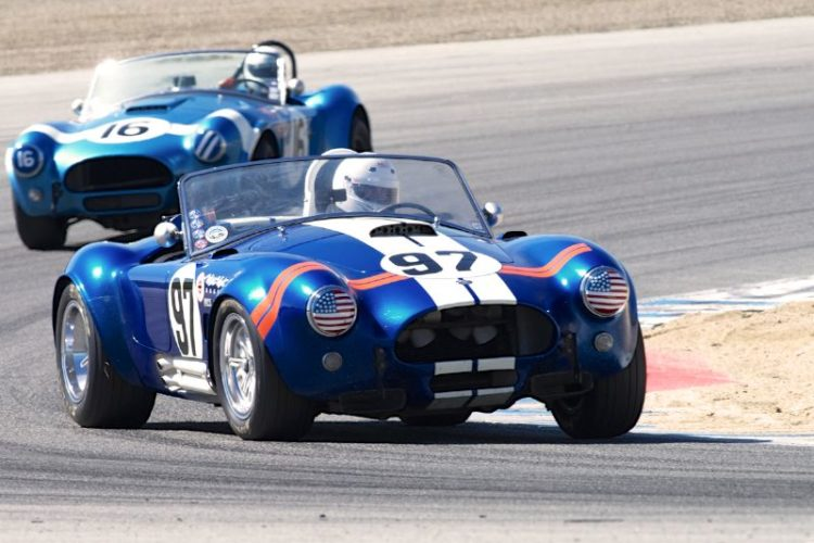 Lynn Park's 1964 Cobra leads the 19