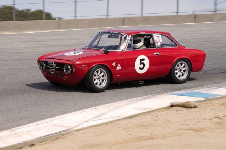 Martin Lauber's Alfa Romeo GTV.