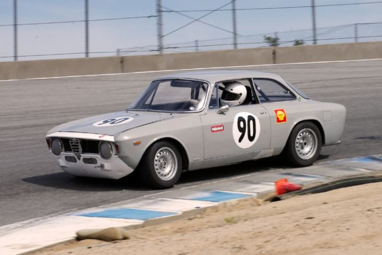 Jeff Hill's first outing in his Alfa Romeo.