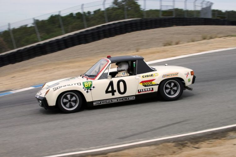 Martin Baker's 1970 Porsche 914/6. This car has been built as a French entrant LeMans Sunauto Porsche even to the use of French rear tail lights. The more one looked at this 914/6 the better it looked.