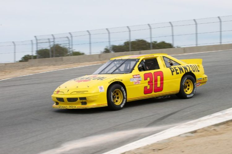 As Saturday afternoon's overcast starts to settle in this is the 1991 Pontiac Grand Prix of Wes McNay.