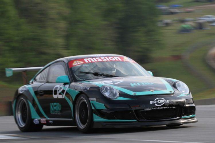 Marius Avemarg, 07 Porsche 997 GT3 Cup