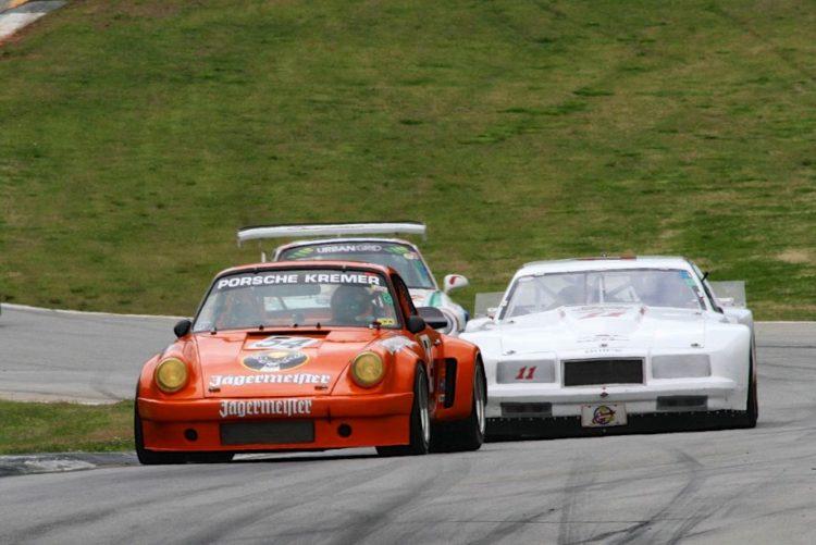 Andy de Cardenas, 75 Porsche 911 RSR. Larry Cope, 85 Buick Somerset