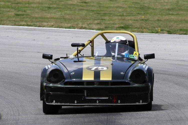 Frank Cater, 76 MG Midget