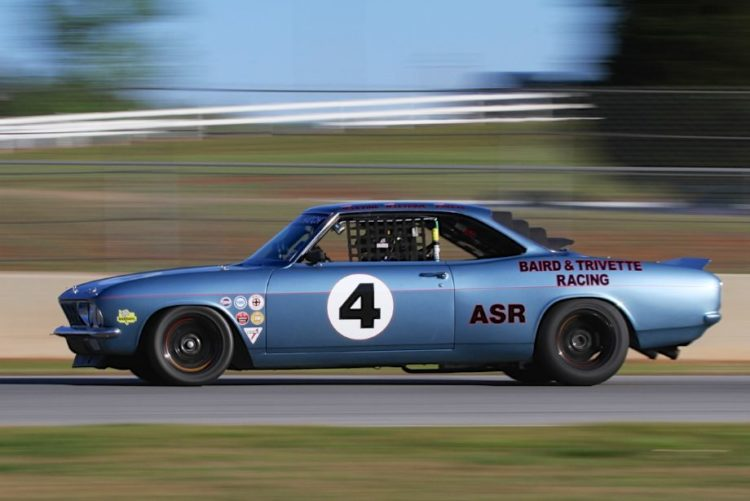 Mike Levine, 65 Chevrolet Corvair V8.