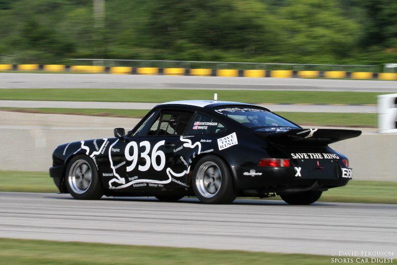 Matthew Goetzinger's 86 Carrera sporting a Save the Ring scheme.