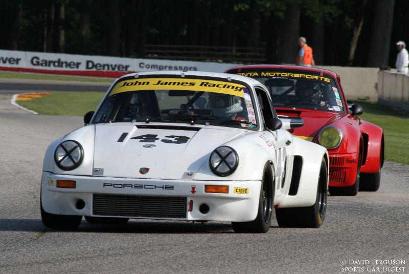 Brian Pettey74 Porsche 911 RSR