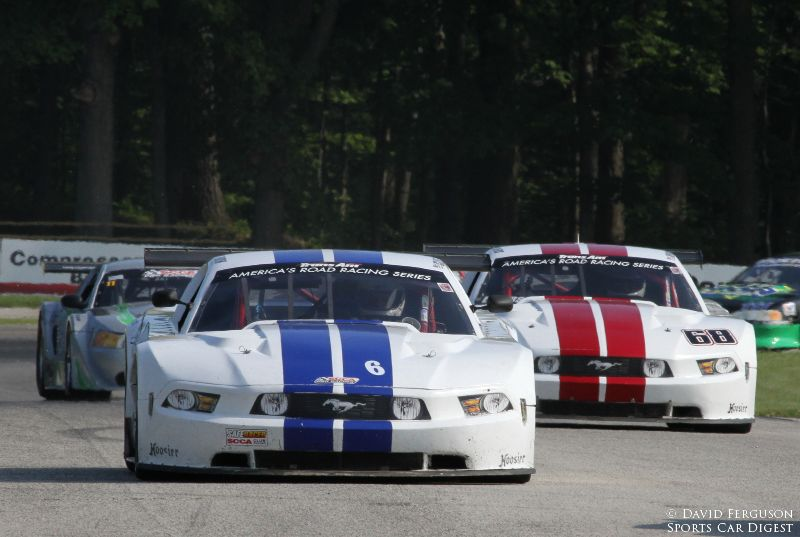 Cliff Ebben and Denny Lamers, 10 Mustang T/A