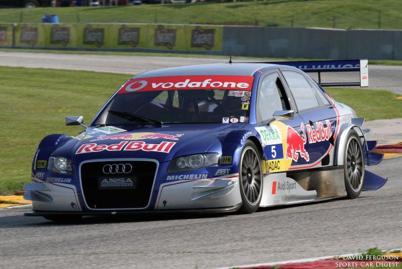 Eric Johnson, 06 Audi A4-R12 DTM