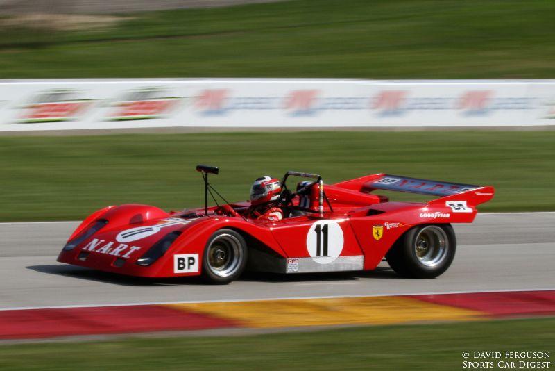 John Goodman, 72 Ferrari 312P/Sparling