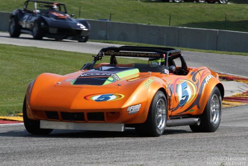 Travis Pfrang, 69 Corvette