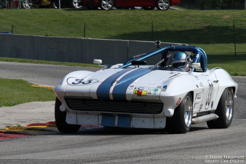 Mike Donohue, 63 Corvette
