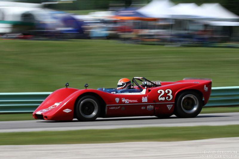 Ed Swart, 68 McLaren M6B