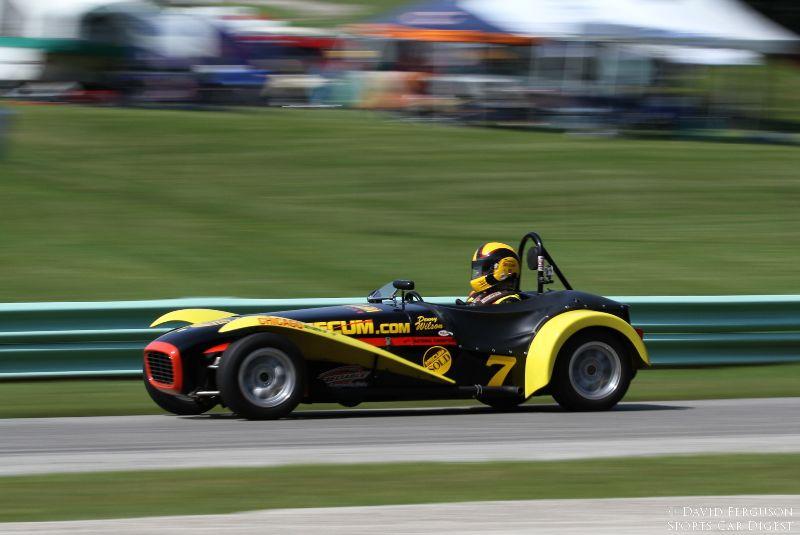 Denny Wilson, 62 Lotus Super 7