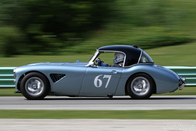 Jeff Lumbard, 1961 Austin-Healey 3000