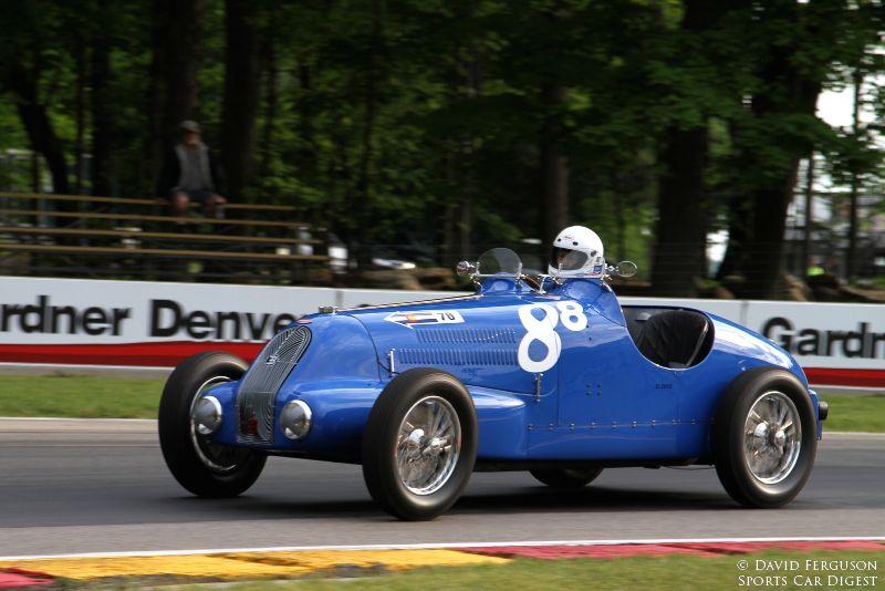 Scott Larson, 37 Bugatti type 57