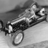 Revolutionary design: exhibition model of the Mercedes-Benz W 125 Grand Prix racing car for the 1937 season