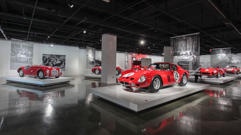 Seeing Red: 70 Years of Ferrari Exhibition