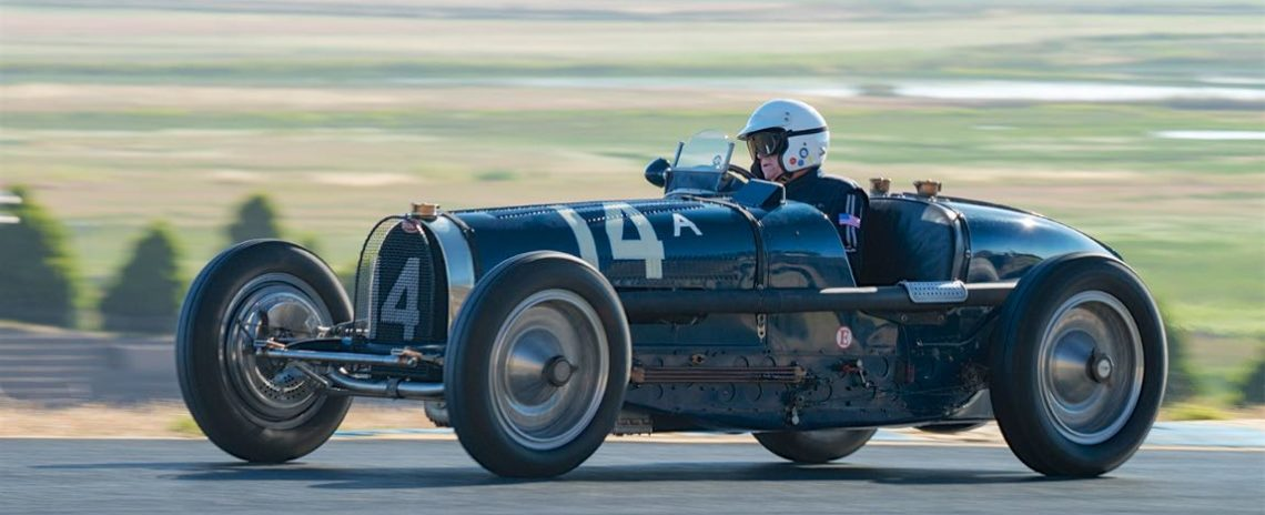 Charles McCabe - 1934 Bugatti 59
