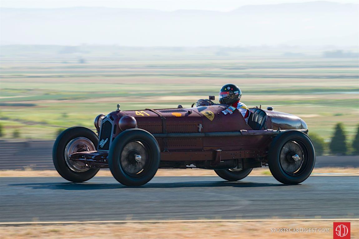 Peter Greenfield - 1933 Alfa Romeo Monza