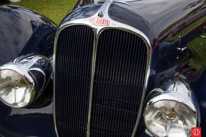 1936 Delehaye I 35 Competition Disappearing Top Convertible