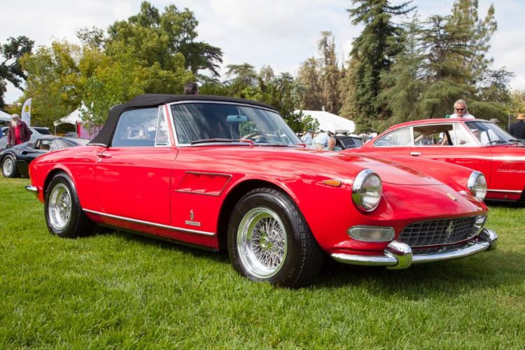 1966 Ferrari GTS Spider, owned by Rick Principe