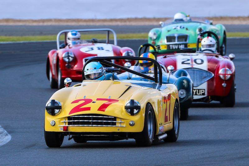 MG Iconics Race (photo: Dickon Siddall)