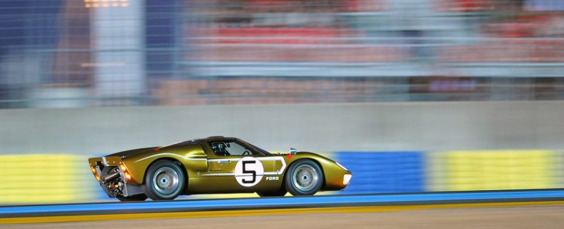 Ford GT40 MK II at Le Mans Classic 2012