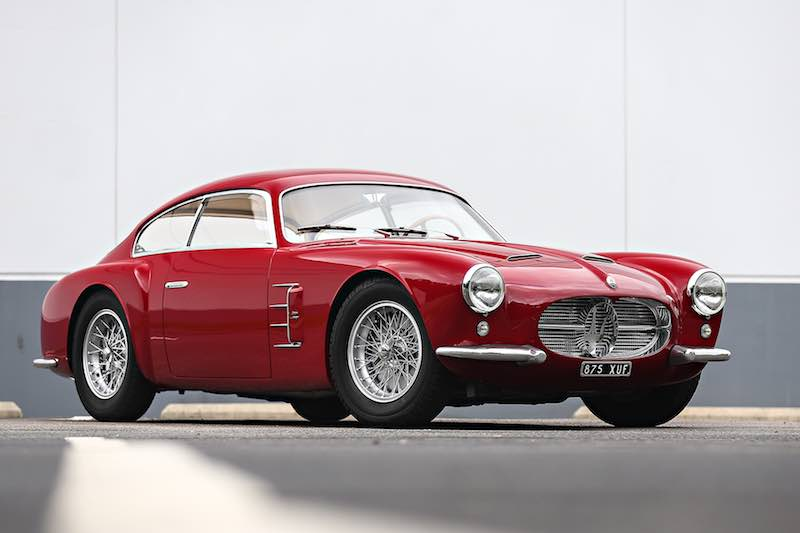 1956 Maserati A6G/54 Berlinetta (Photo: Mathieu Heurtault)