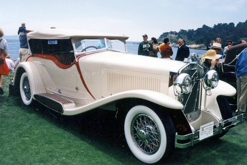 1930 Isotta Fraschini Tipo 8A SS Castagna Special Sports Tourer, Best of Show at the 1983 Pebble Beach Concours