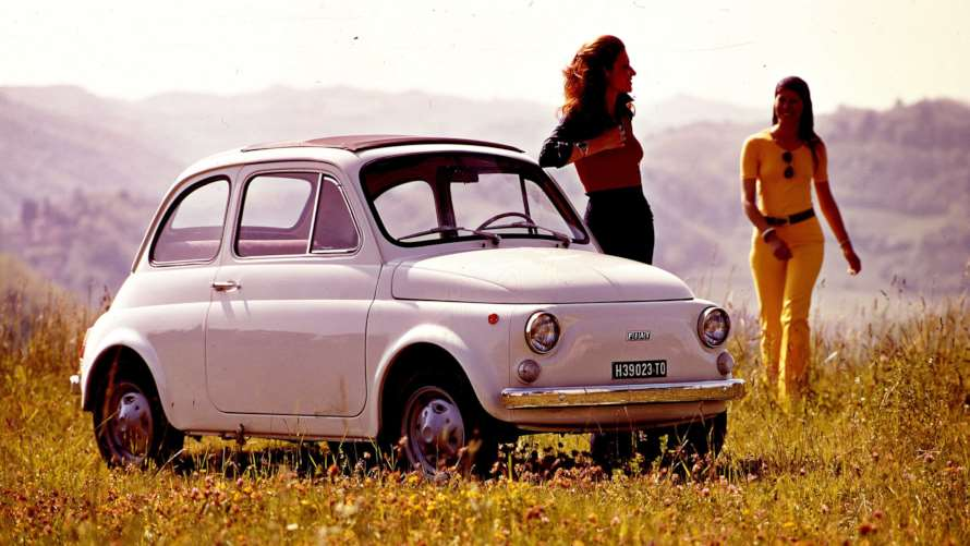 Fiat 500 Goodwood Revival