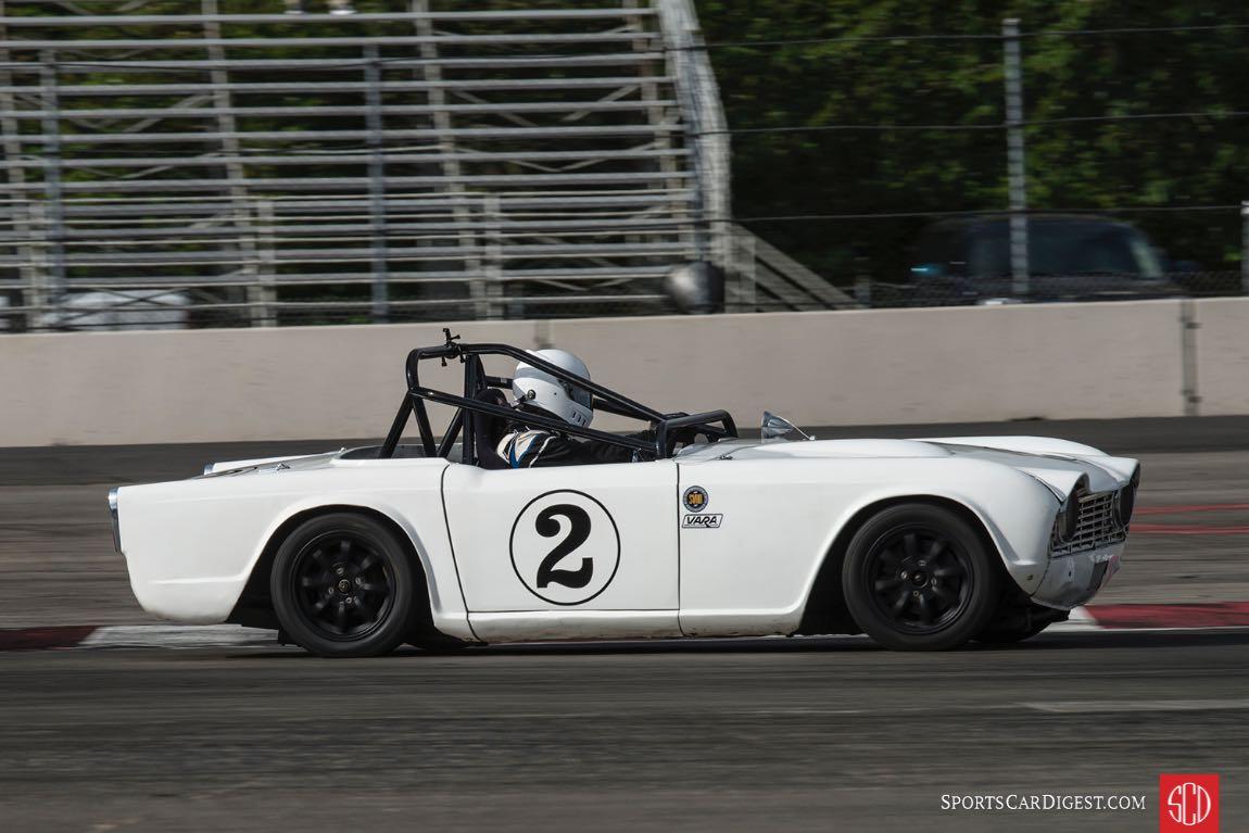 Trevor Pearson - 1962 Triumph TR4