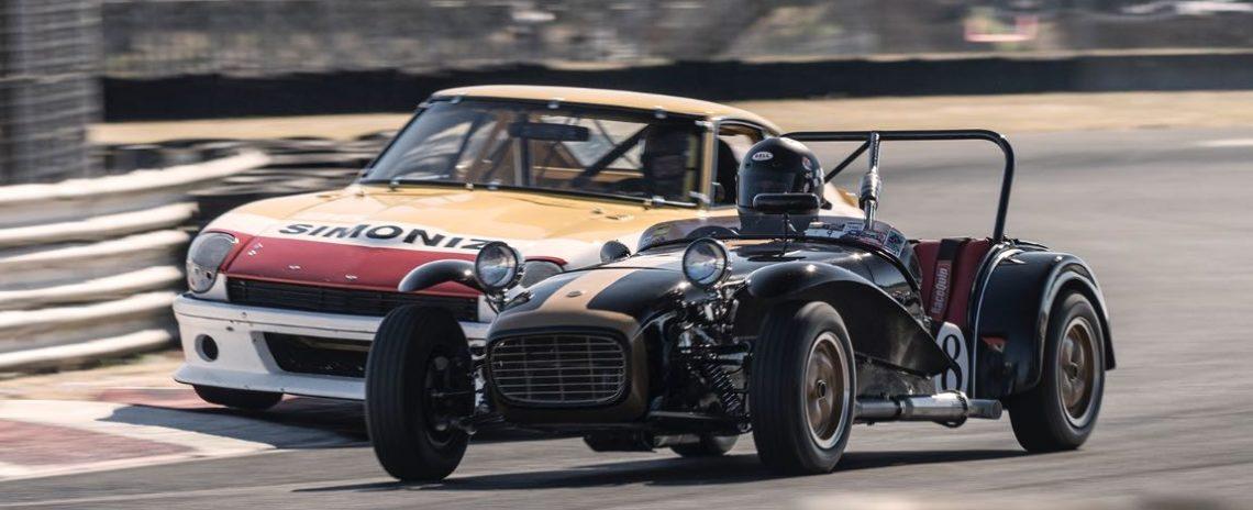 Paul Quackenbush - 1963 Lotus S7 and John Murray - 1971 Datsun 240Z