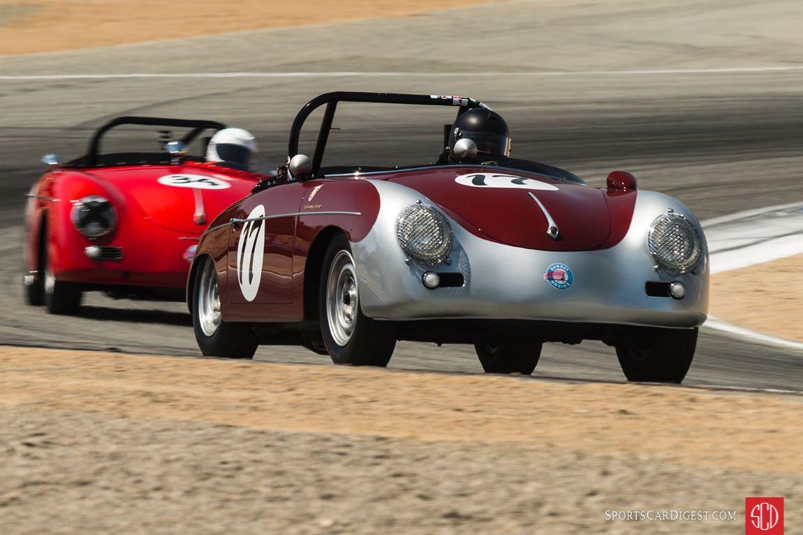 Max Jamiesson - 1957 Porsche 356 Speedster