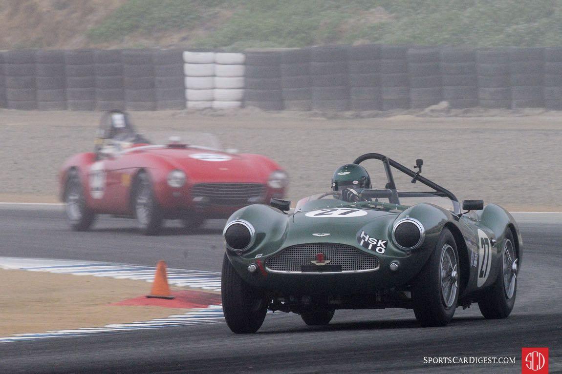 Wolfgang Friedrichs - 1954 Aston Martin DB3S